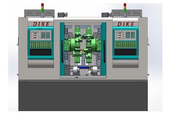 DKCK-DE1200双头车床