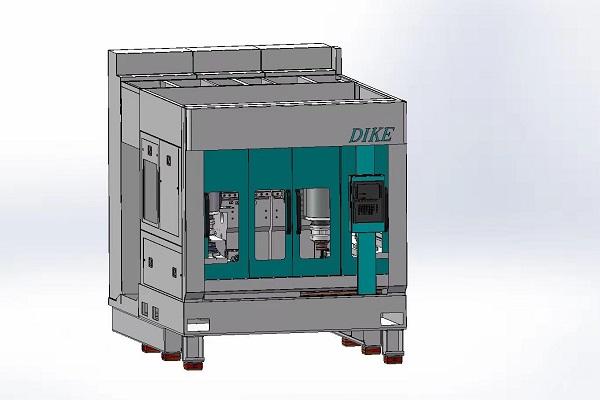 双主轴倒立式车床DKCK-VL3