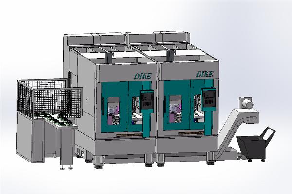 倒立式车床DKCK-DL5
