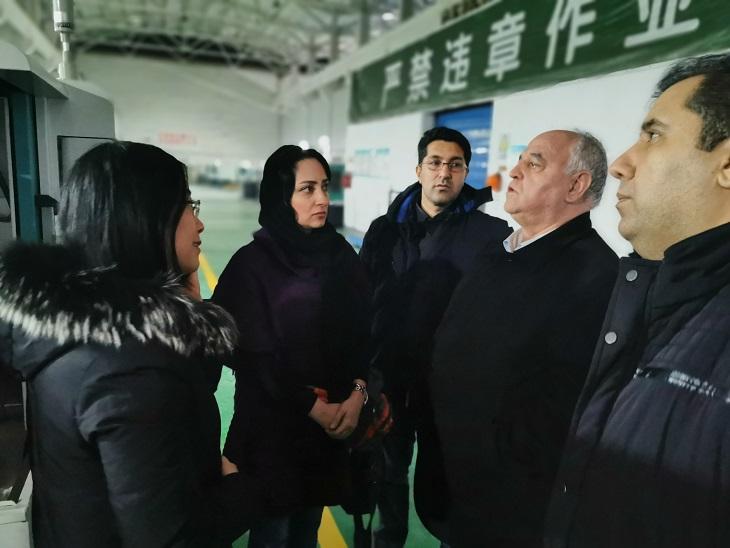 伊朗客户选购全自动数控车床,用于生产轴承套圈