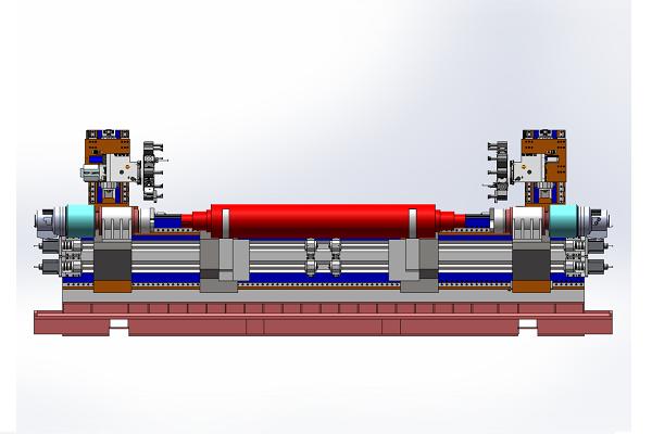 双主轴复合车削中心